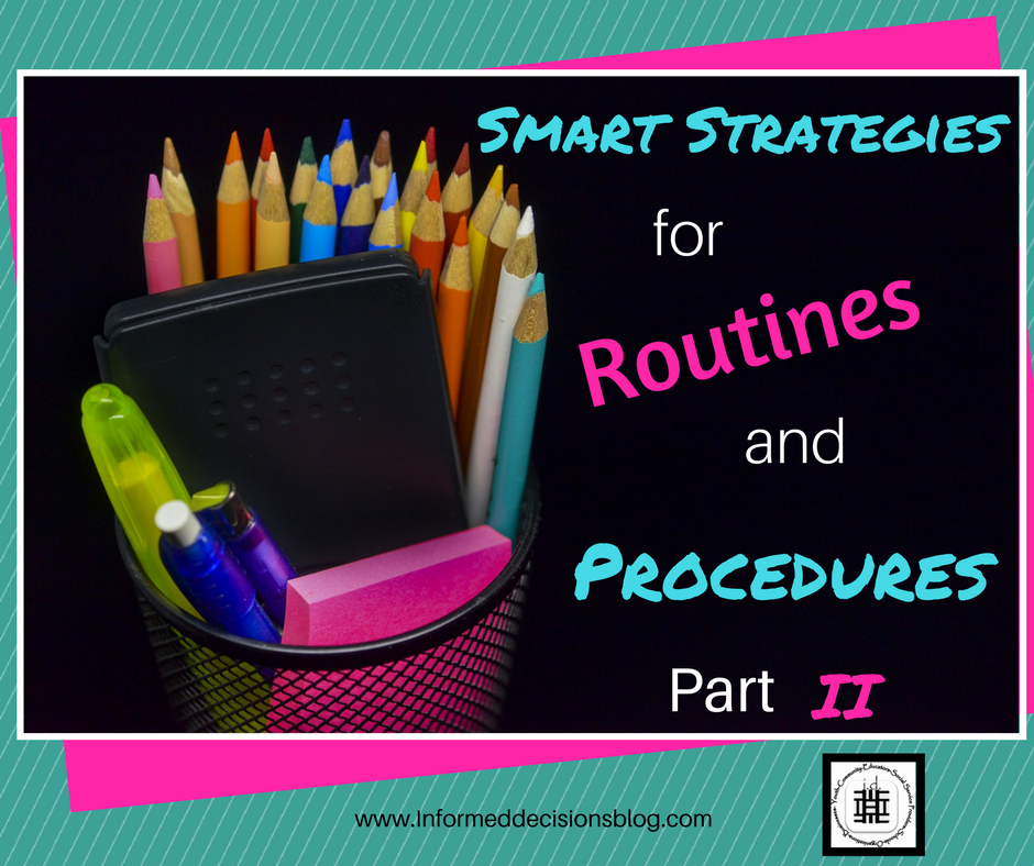 Routines and Proccedures