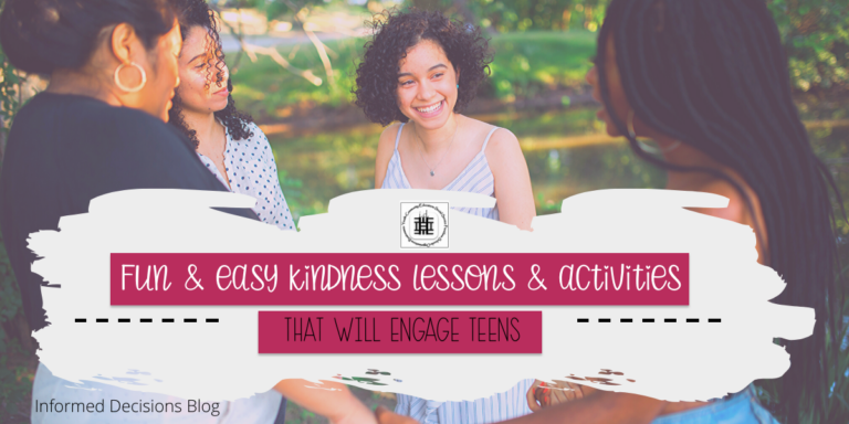 Fun & Easy Kindness Lessons & Activities that will Engage Teens