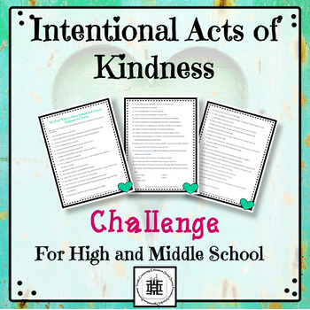 Intentional Acts of Kindness Challenge